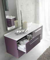 bathroom wall-hung base cabinet CITY AMBIANCE BAIN