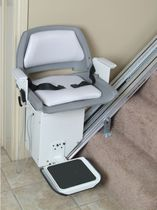 battery-powered chair stair lift   AmeriGlide