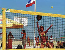 beach tennis net  Artimex Sport