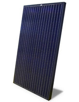 black polycrystalline photovoltaic solar panel TE225/230-60P+ ALL BLACK Tenesol