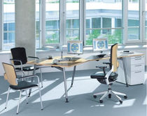 boardroom table HEXAGON Haworth Europe