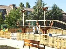 bridge for playground FOREST LAS ROZAS Parques Infantiles Isaba
