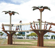 bridge for playground FOREST Parques Infantiles Isaba