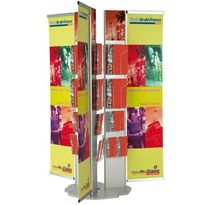 brochure display rack  MCE Design