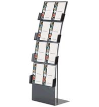 brochure display rack SAPXM  MCE Design