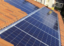building-integrated photovoltaic module (BIPV)  Thermo Solar