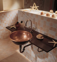 built-in copper washbasin TONDO AGO