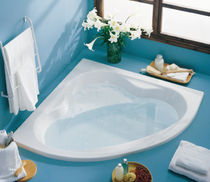 built-in corner bath-tub MARGARIDA sanitana