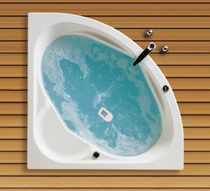 built-in corner hydromassage bath-tub CLÁUDIA sanitana