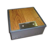built-in floor box for power sockets  SSOB2 Esco Industries