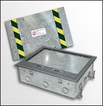 built-in floor box for power sockets PMC50-G FBS - Floor Box Systems