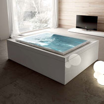built-in hydromassage bath-tub FUSION 230 by Marc Sadler  GRUPPO TREESSE