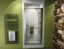 built-in shower cabin PRIMO®  MAAX bathroom