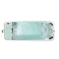 built-in swim spa SWIMMER'S EDGE 18 Premium Leisure