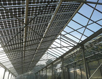 canopy with dual-glass photovoltaic modules S-TE LUMEX Tenesol