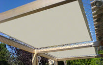 canvas enclosure for tribune BARRISOL TREMPOVISION BARRISOL