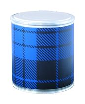 cardboard design stool SCOTTISH BLUE Pacific Art Design