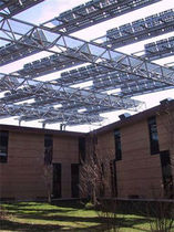 carport (with integrated photovoltaic panels) SUN SHADE CANOPY  Sunvie
