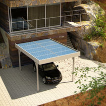 carport (with integrated photovoltaic panels)  Crane Ltd.