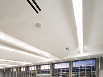 ceiling-partition integrated system CONTURA : PERIMETER POCKETS Gordon Inc.