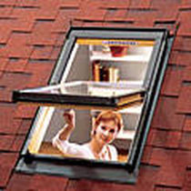 center-pivot roof window ZENITH TEGOLA CANADESE