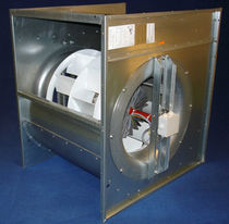 centrifugal extractor fan for rectangular duct systems TYPE HD Fischbach Luft- u. Ventilatorentechnik GmbH