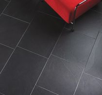 ceramic floor tile: stone look JACA NEGRO Azuvi