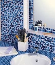 ceramic mosaic tile for bathroom MARIENBAD EMAUX DE BRIARE