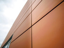 ceramic ventilated facade FACE : RED Soladrilho