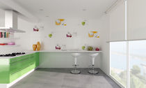 ceramic wall tile: kitchen pattern BLANCOS UNDEFASA