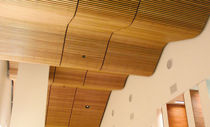 cerified wooden suspended ceiling (FSC-certified) GRILLE Rulon company