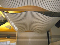 cerified wooden suspended ceiling (FSC-certified) PLASLINE Rulon company
