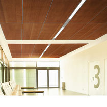 certified wooden ceiling tile (FSC-certified) TRUE™ USG