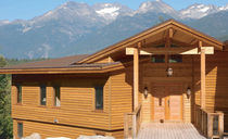 certified wooden facade cladding (FSC-certified) ELITE KNOTTY  International Forest Products