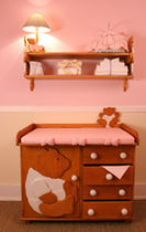 changing table (girls)  DADA-GUGU