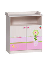 changing table (girls) BABY FLOWER Cilek AS