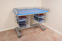 changing table with casters (unisex) 340 Mountway