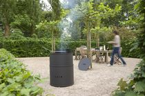 charcoal barbecue BARREL by Bart Vos TULP firemakers