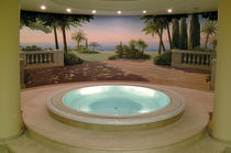 circular built-in hot-tub RESERVE    SOMETHY