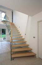 circular floating staircase KIPPINGTON ROAD SS 667 SPIRAL Stairs
