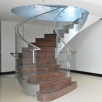 circular floating staircase NORTHWOOD elite metalcraft