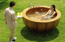 circular portable hot-tub  Outdoor Comforts