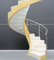 circular staircase with lateral stringers (concrete structure) C-AS2 EDILCO
