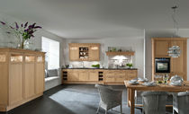 classic kitchen in wood veneer 6045 H&Auml;CKER