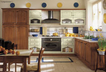 classic laminate kitchen (imitation wood) ASIA Corazzin Group - Contract & hotel