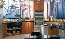 classic laminate kitchen (imitation wood) BENTWOOD CUSTOM bentwood Luxury Kitchens