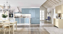 classic matt lacquer eco-friendly kitchen (water-based lacquers) MARTINA 05 Corazzin Group - Contract & hotel