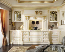classic solid wood kitchen (lime) BEATRICE Onlywood SRL