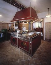 classic stainless steel kitchen AVANT GARDE ISOLA J. Corradi