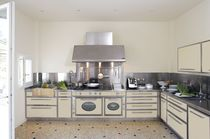 classic stainless steel kitchen AVANT GARDE BEIGE J. Corradi